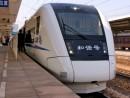 広珠城軌に投入される「和諧号CRH1型」(写真は広深線の同型車輌)―本紙撮影