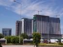 次々建設される海外資本のリゾートホテル―本紙撮影