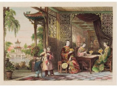 中国風―19世紀中国風情西洋版画展