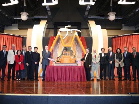 MGMマカオ5周年祝賀パーティの模様 (c) MGM Macau