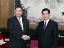 胡錦涛中国国家主席(右)、崔世安マカオ特別行政区行政長官(左) (c) GCE 行政長官辦公室