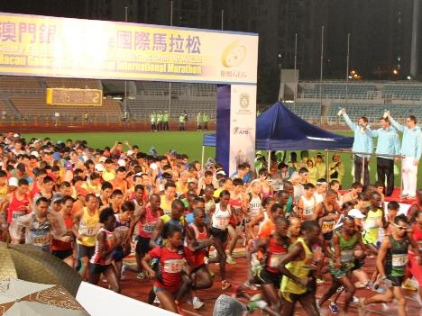 6,000名が参加―2012マカオ国際マラソン