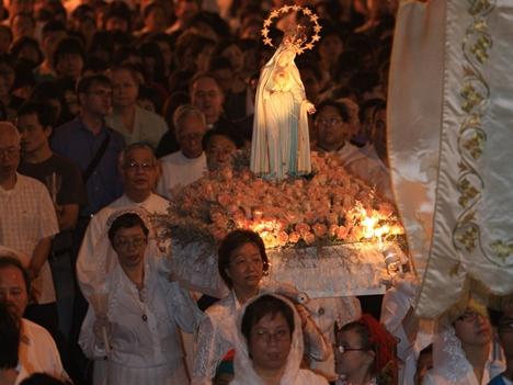ファティマ聖母の行列