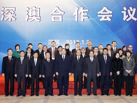 マカオ特区、深圳市との協力強化へ