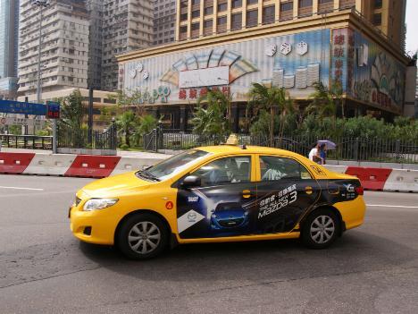 イエロータクシー解散へ—マカオ政府が契約打ち切り
