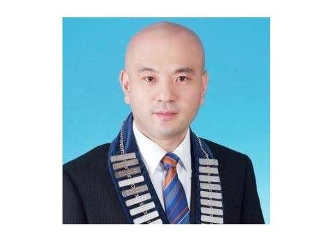 マカオ濠江青年会議所会長に就任した渡邊章太郎氏