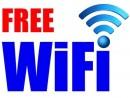マカオ国際空港の無料Wi-Fiサイン