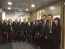 香港旅遊発展局を訪れる一行 (c) IPIM