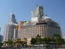 マカオを代表する老舗ホテルとして知られるホテルリスボア(資料写真)—本紙撮影