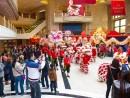 各リゾートが新春ムードを盛り上げるイベントを開催。写真はギャラクシーマカオ (c) Galaxy Macau