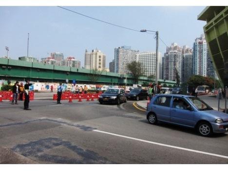 マカオLRT工事本格化によるタイパ島交通規制拡大