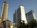 2012年から2013年初頭にかけ相次いで開業したサンズコタイセントラル内のホテル―本誌撮影