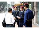 市内の巡回を行う特警隊 (c) 治安警察局