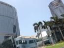メルコ・クラウン・エンターテイメント社が運営するカジノ付き大型IR(統合型リゾート)施設、シティオブドリームズ=マカオ・コタイ地区—本紙撮影