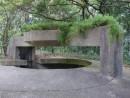 松山第二軍用トンネル—本紙撮影
