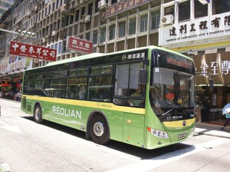 公共バス維澳蓮運(レオリアン)破産、政府管理下へ