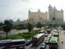 マカオでは車輌数の増大に伴う交通渋滞、大気汚染が社会問題に(写真はイメージ)―本紙撮影