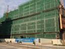 フィッシャーマンズ内に建設中のプラハ・ハーバービュー・ホテル―本紙撮影