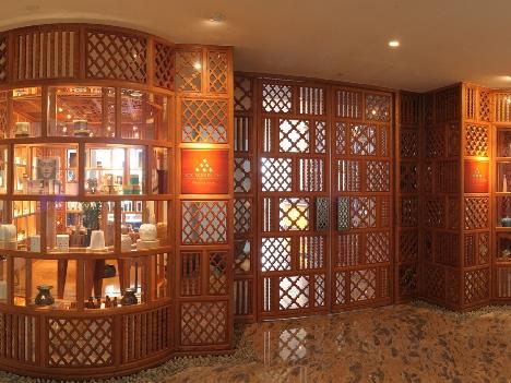 シックスセンススパエントランス (c) MGM Macau