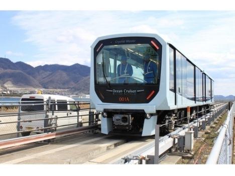 マカオLRT列車量産段階へ