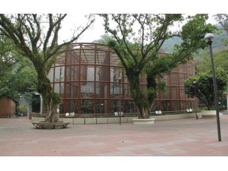 サル展示施設を刷新―石排湾郊野公園