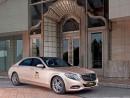 MGMマカオがリムジンに採用したエコカー「メルセデスベンツS400ハイブリッド」(写真提供:MGM Macau)