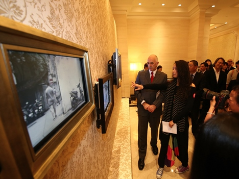 「ラールシノワ」中仏国交樹立50周年展
