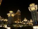 友権グループホールディングスが展開するVIPルームが入る大型カジノ施設ギャラクシーマカオ(資料)=マカオ・コタイ地区—本紙撮影