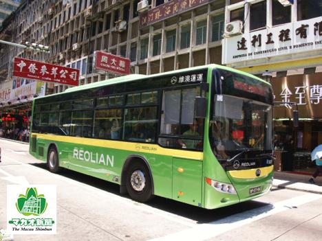 レオリアン社の路線バス(資料)—本紙撮影