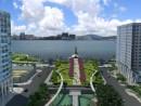 タイパ島側を望むプラン1のデザイン(写真:運輸基建辦公室)