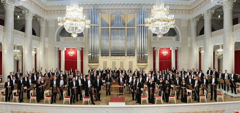 サンクトペテルブルク・フィルハーモニー交響楽団(写真提供:文化局)