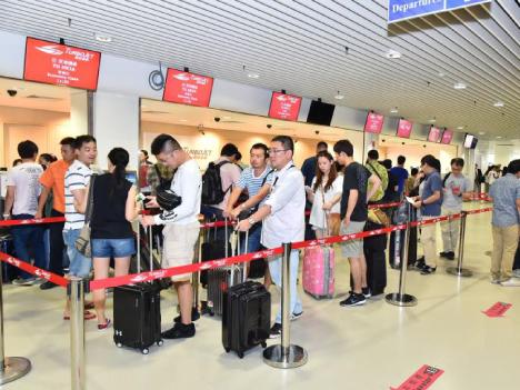 香港空港直行フェリーの乗継所要時間最短65分に