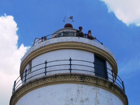 ギア灯台内部特別参観初日に1千人—7月毎週末実施