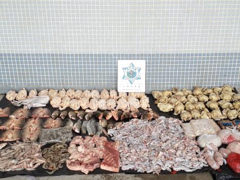 未検疫食肉類の違法輸入相次ぎ摘発