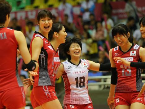 日本初戦3-1でセルビアに勝利ーFIVBワールドGPマカオ