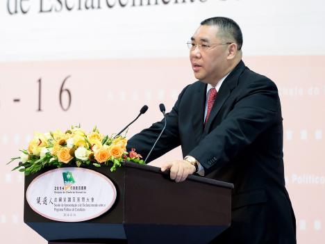 崔氏が政策綱領を発表―第4回マカオ行政長官選