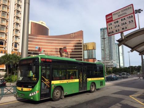 マカオ大横琴校舎とリスボア前結ぶ快速バス新設