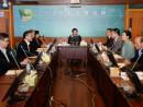 8月12日に行われた行政長官選挙委員会会議(写真:新聞局)