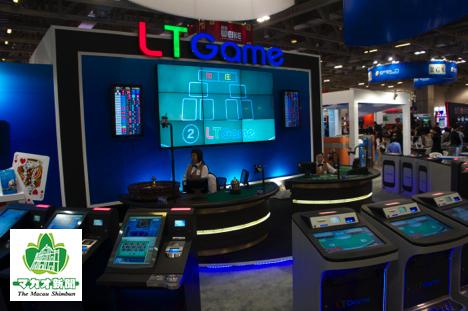 LTゲームのライブ中継型ゲーミングシステム―本紙撮影