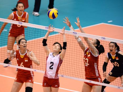 日本、中国下し3連勝ーFIVBワールドGPマカオ