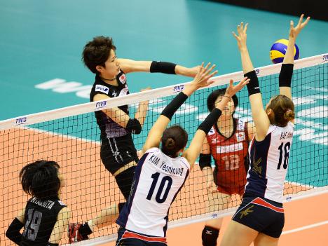 日本、韓国に逆転勝ちで2連勝ーFIVBワールドGPマカオ