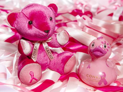 コンラッドマカオ、乳がん啓発活動へ協賛