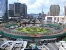 結合作業を終えたコタイ地区の円形陸橋(写真:建設發展辦公室)