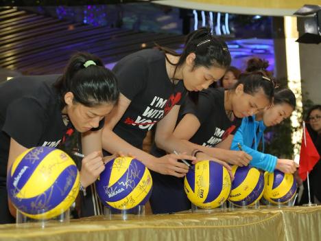 女子バレー中国代表マカオ到着―17日に日本と対戦