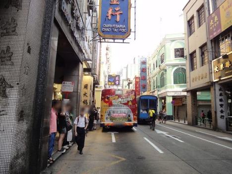 新馬路/營地大街バス停を方面別に分割—今月中実施