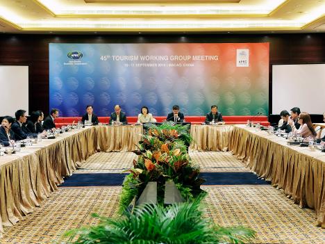 第8回APEC観光大臣会議の参加者らが続々マカオ入り