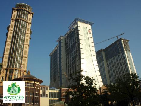 2012年から2013年初頭にかけ相次いで開業したサンズコタイセントラル内のホテル(資料)―本誌撮影