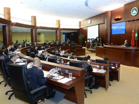 マカオ立法会一般公開