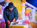 ドリームワークスの人気キャラクターが多数登場するアジア最大の室内彫像展「アイスワールド」。ハルビンの氷像アーティストが氷像の制作を手がける(写真提供:The Venetian Macao)