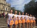 世界遺産聖ポール天主堂跡前で行われた中国本土の不動産ディベロッパーによる無許可の広告撮影の様子=11月27日(写真提供:All About Macau Media)